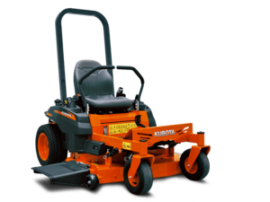 Z122R_petrol_mower_angle view_studio_without background_PNG